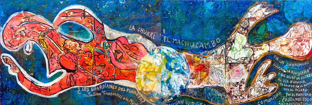 Elena Gastón. La churri y el macuchambo.