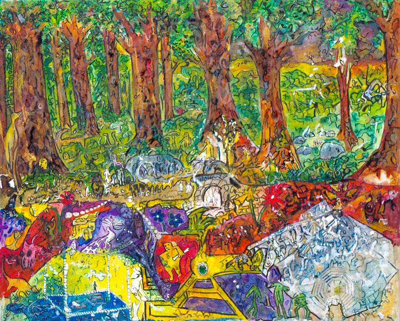Elena Gastón. El bosque habitado.