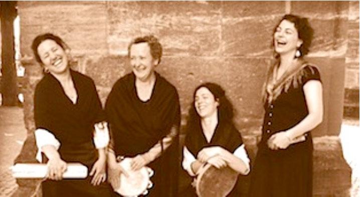 Concierto en Ipiés, Huesca. Cantaderas. Música antigüa y tradicional.