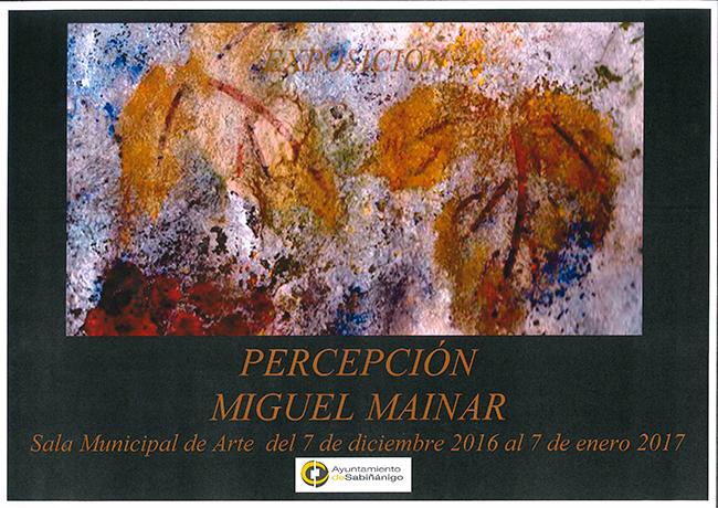 Inauguración Miguel Mainar. Percepción.