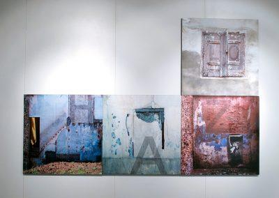 Gloria García. Exposición: Identidades de un hábitat. Detalle obra.